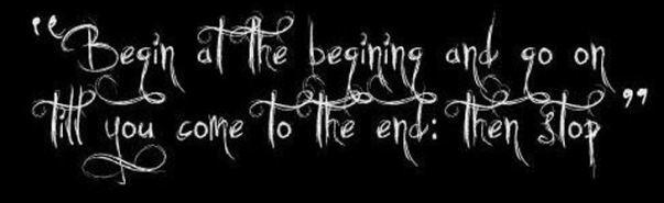 alice begin at the beginning 1