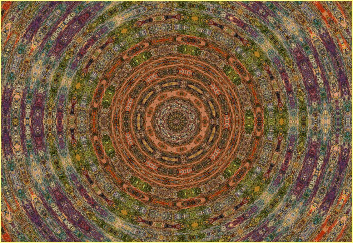 les cercles des couleurs universelles de lumière  par j. kiley  (c) Jennifer Kiley 2012