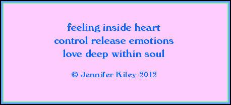 profond dans l'âme  par j. kiley  © Jennifer Kiley 2012