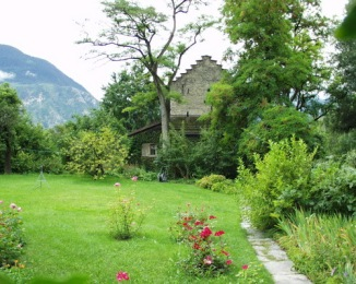 Rilke's Home in Switzerland Valis Veyras
