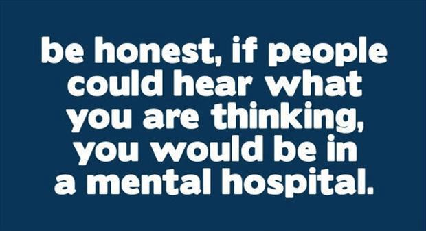thinking hear mental hospital
