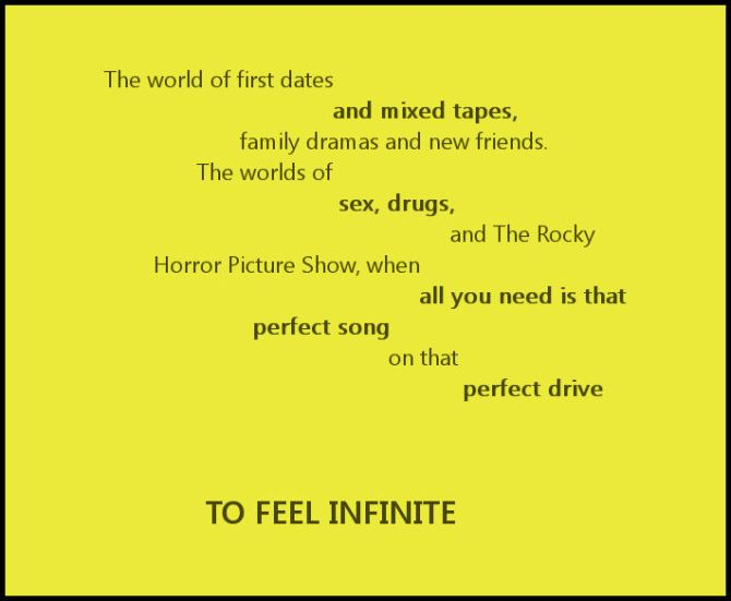 to feel infinite
