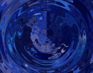 blue clouds by j. kiley