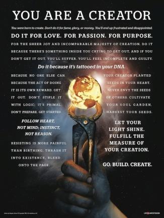 create u r a creator poster