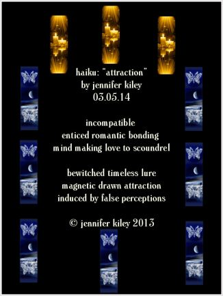 haiku attraction by j. kiley