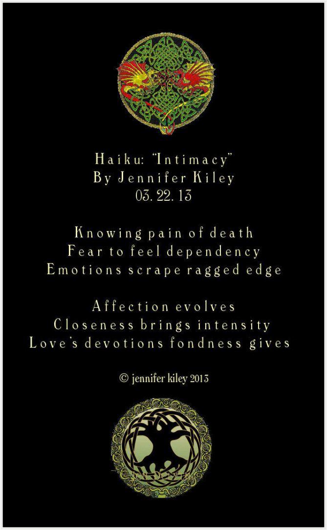 haiku intimacy