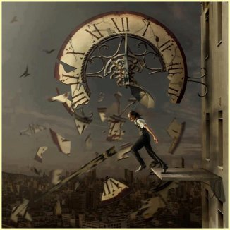 shattered time --- artist unknown