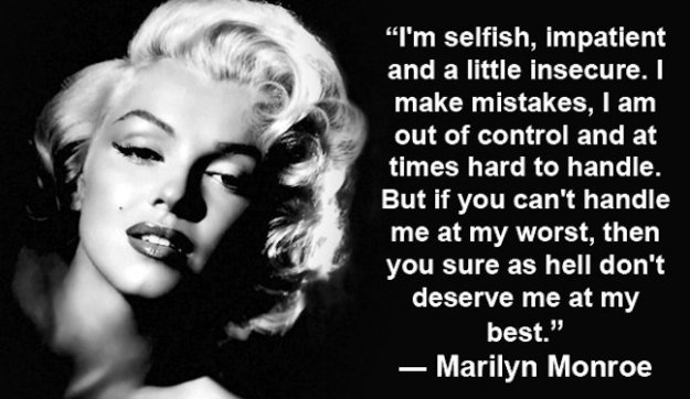 marilyn monroe her famous selfish quote 647x375