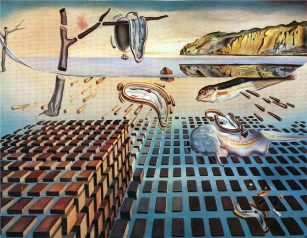 dali   the disintegration of the persistance of memory  1030x800
