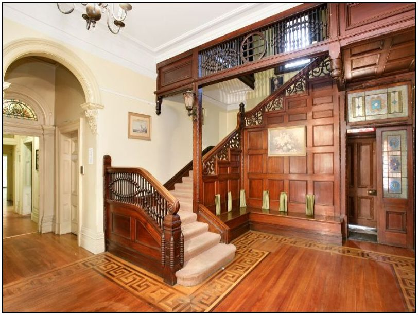 Front Foyer Staircase : June the secret keeper
