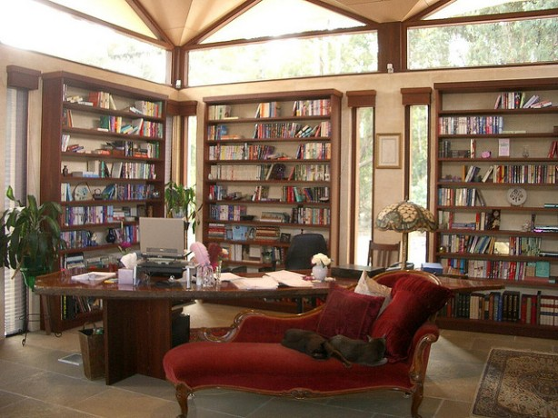 madison's study/library  640x480