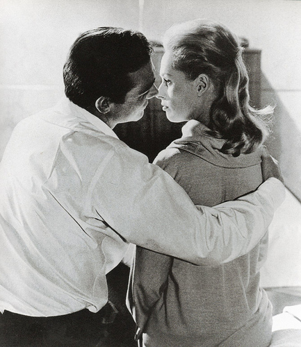 sean connery as mark kissing tippi hedren as marnie
