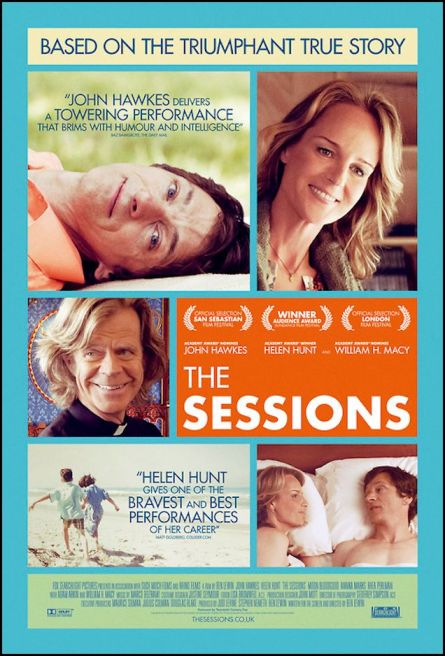 poster for the film 'the sessions'  636x938