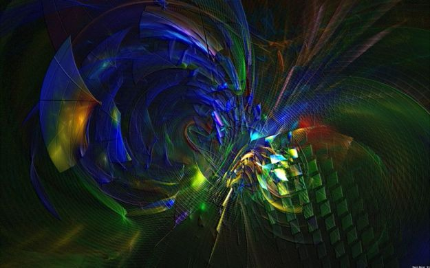 Quite Busy --- abstract digital art 864x540