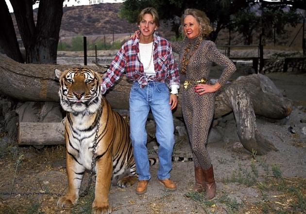 tippi w ellen and tiger