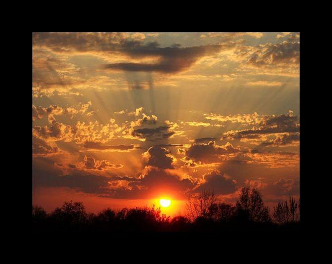 4p beautiful sunset glorious