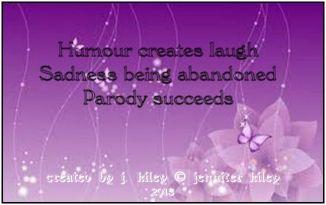 4p haiku humour parody lt purple