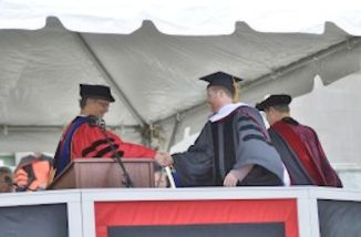 josh whedon received honorary degree from wesleyan university 2013