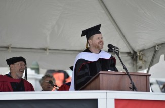 Joss Whedon '87 Delivered the Wesleyan Commencement Address 640x424