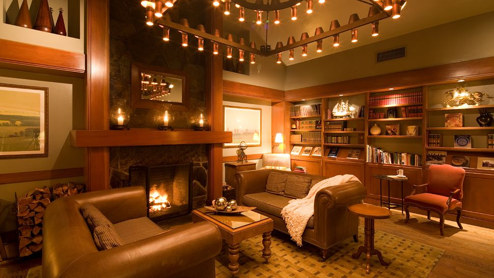 Swell Library Fireplace Living Room Golden The Secret Keeper Largest Home Design Picture Inspirations Pitcheantrous