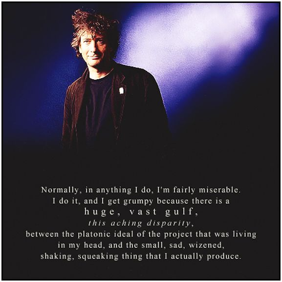 neil gaiman quote on projects