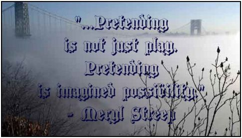 play is not just play meryl streep