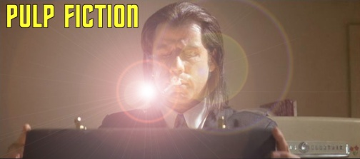 pulp fiction briefcase  good shot with echo of light with jv