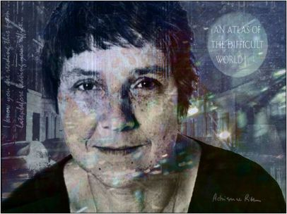 Adrienne rich atlas of a difficult world