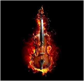 burning violin 1