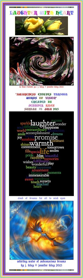 laughter with heart by j. kiley (c) jennifer kiley 2013