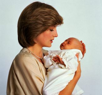 Princess Diana with baby William 3780x3534
