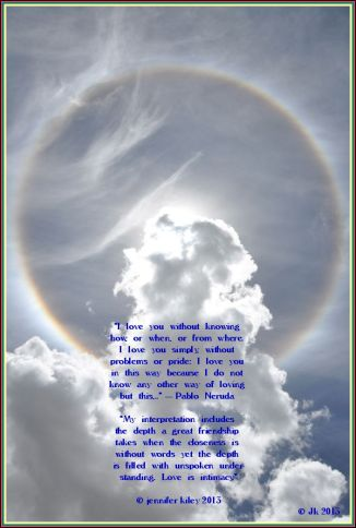 A Rainbow Circle For You, Love Jennifer Happy Birthday