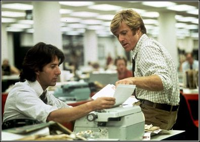 all the presidents men  redford hoffman