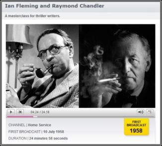 BBC Archives Chandler and Fleming July 10th 1058