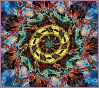 Flamme Abstrait de Couleurs par j. kiley  (c) jennifer-kiley-2013  968x863