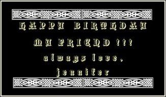 happy birthday niamh