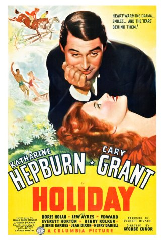 holiday  the film hepburn & grant