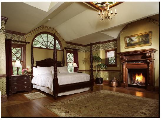 'Brief Sacrifice' Film Set Bedroom Carter McLeod's Mansion