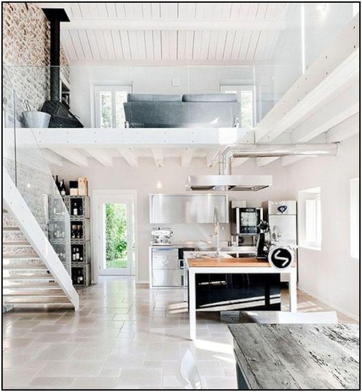 Open White Kitchen  796x862
