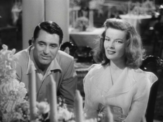 The Philadelphia Story cary and kate relaxed at table