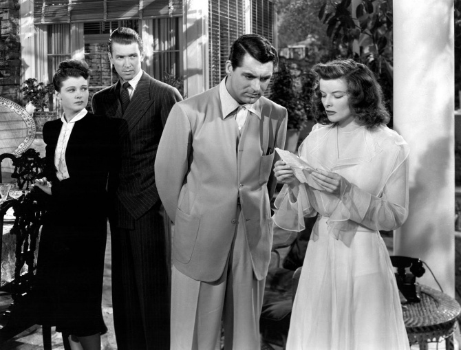 The Philadelphia Story kate's fiance sends letter to cancel the wedding