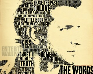 the-words-2012 words form the bust of bradley cooper
