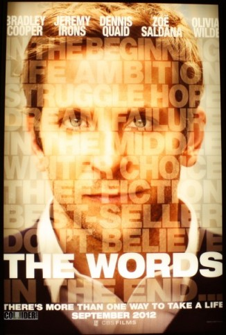 the-words-movie-poster-as book cover