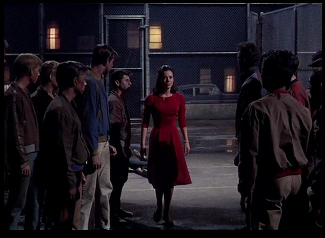 west side story at end when maria is confronting both gangs 1
