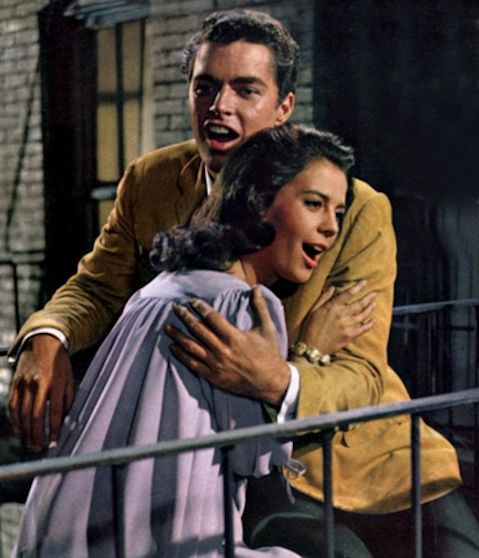 west side story balcony hugging on knees 1