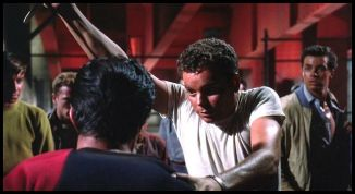 west side story riff is stabbed tony behind him in shock 1