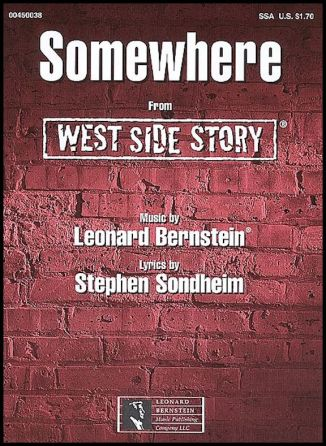 west side story somewhere poster 1