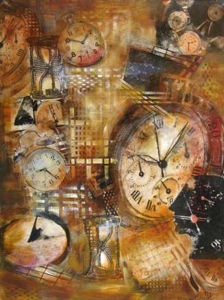 a matter of time --- artist katherine patrick