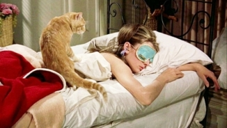 audrey-as-holly-in-sleep-mask_with cat on back