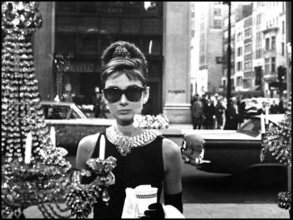 Holly Golightly at Tiffany's Windown in Blake Edwards Breakfast at Tiffany's